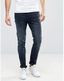 Washed Indigo Jeans In Slim Fit