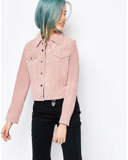 Western Jacket In Suede