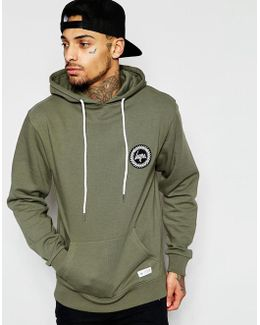 Hoodie With Crest Logo