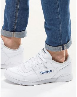 Workout Plus Trainers In White 2759