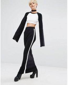 Fenty X By Rihanna Ribbed Maxi Skirt