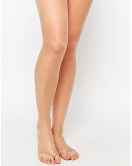 8 Denier Tights With Sandal Toe Detail