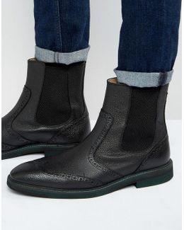 Dwight Leather Chelsea Boots