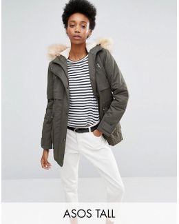 Shell Parka Jacket