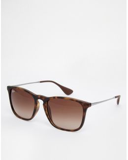 Keyhole Wayfarer Sunglasses 0rb4187