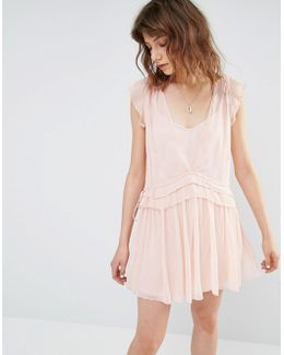 Pretty Layered Mini Dress