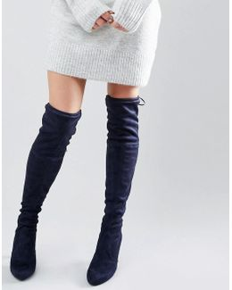 Sammy Heeled Over The Knee Boots