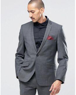 Camden Super Skinny Suit Jacket In Seattle Prestige