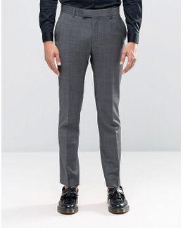 Camden Super Skinny Suit Trousers In Seattle Prestige