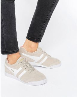 Classic Harrier Sneakers In Nude & White