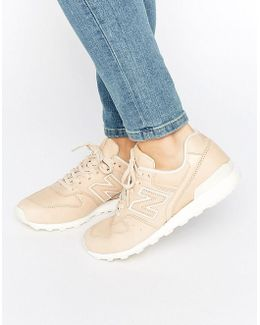 996 Trainers In Nude Leather