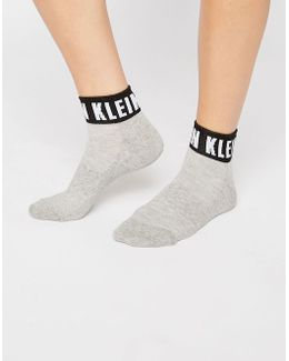 Icon Logo Quarter Socks