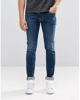 Pepe Nickel Skinny Jeans I47 Dark Wash
