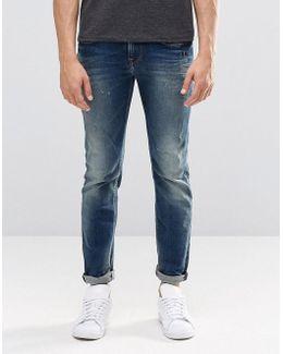 Pepe Kingston Straight Jeans N56 Mid Wash