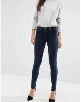 Lisbon Mid Rise Jeans In Mississippi Wash