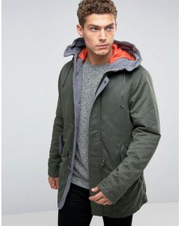 Parka With Quilted Lining