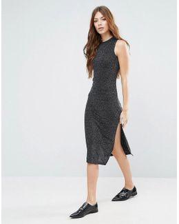 Silli Long Lurex Dress