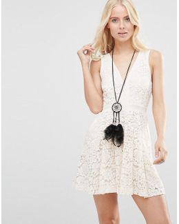 Lovely In Love Dress In Lace