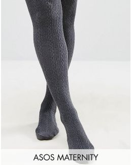 'new Improved Fit' Cable Tights