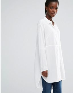 Empire Dot Oversized Shirt