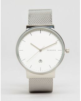 Ancher Silver Mesh Watch Skw6290