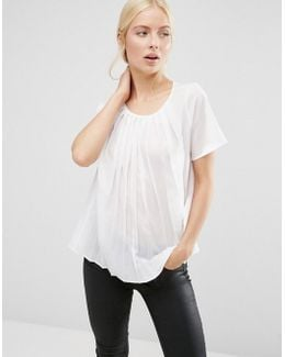 Polly Pleats Top