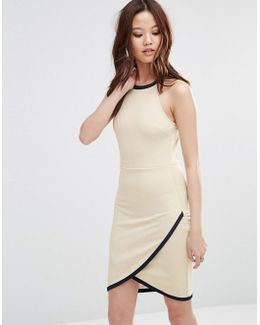 Dress With Wrap Skirt