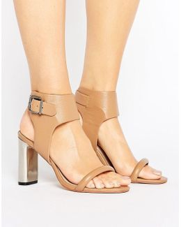 Maria Buckle Detail Heeled Sandals