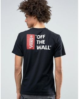Off The Wall T-shirt In Black V5y0blk