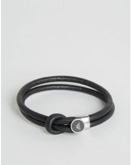 Logo Bracelet In Black