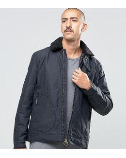 Fleece Jacket In Black