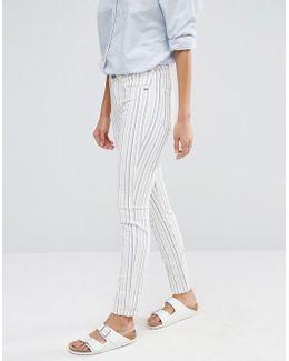 Bohemienne Stripe Jeans