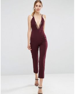 Cami Jumpsuit With Strap Detail
