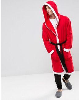 Christmas Santa Dressing Gown
