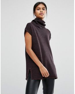 Roll Neck Knitted Tunic