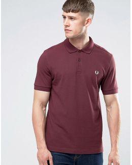 Polo Shirt In Mahogany