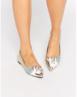 Lulamoon Unicorn Ballet Flats