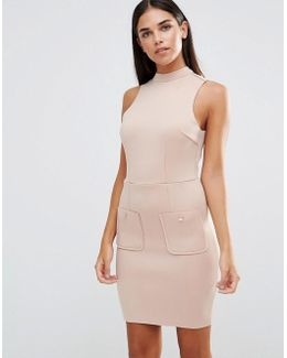Mini Scuba Bodycon Dress