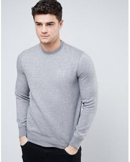 Sweatshirt With Logo In Grey
