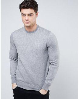 Sweatshirt With Logo In Grey