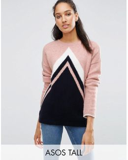 Jumper In Chevron Pattern