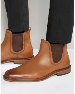 Chelsea Boots Tan Leather