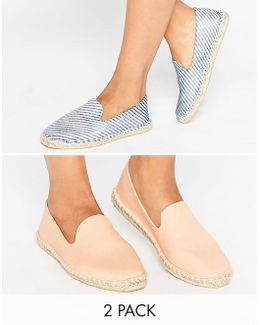Jeanie Two Pack Espadrilles