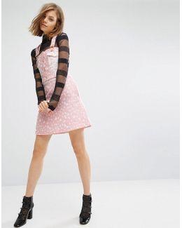 Heart Skater Jacquard Skirt