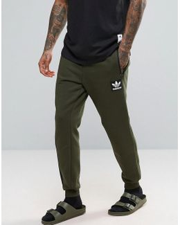 Brand Pack Joggers In Green Ay9302