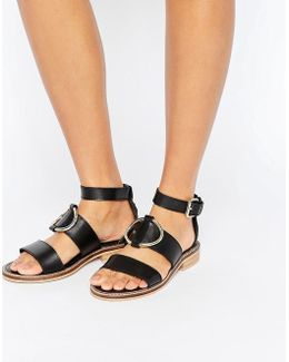 Freena Leather Sandals