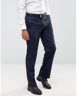 Straight Pants In Navy