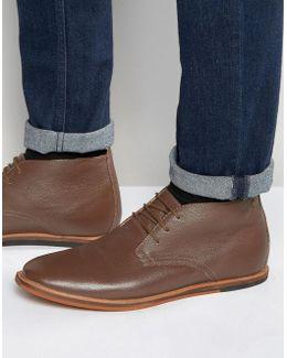 Strachan Chukka Boots Brown Leather