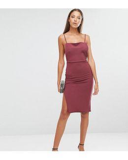 Backless Strappy Midi Dress
