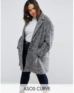 Coat In Cocoon Texture